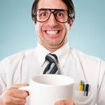 Kaffeepause im Büro